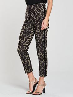 karen-millen-karen-millen-leopard-jacquard-tuxedo-trouser