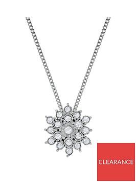 love-diamond-9ct-white-gold-10-point-diamond-flower-cluster-pendant-necklace