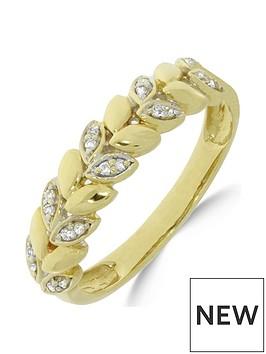 love-diamond-9ct-gold-8-point-diamond-vine-ring