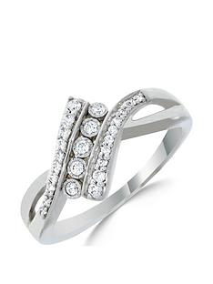 love-diamond-9ct-white-gold-20-point-diamond-twist-five-stone-ring