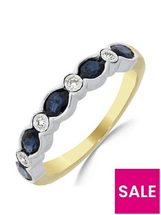 love-gem-9ct-gold-sapphire-4-point-diamond-eternity-ring