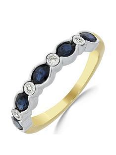 love-gem-9ct-gold-sapphire-amp-4-point-diamond-eternity-ring