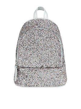 Monsoon Girls Pic N Mix Glitter Mini Backpack