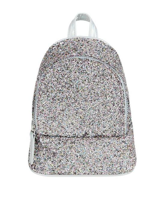 5eea9bdcdad Monsoon Girls Pic N Mix Glitter Mini Backpack | very.co.uk