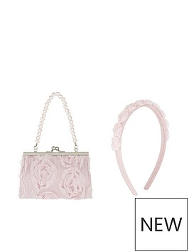 monsoon-girls-cascadia-rosette-mini-bag-amp-headband-set