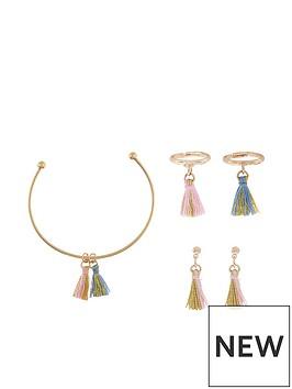 monsoon-girls-mini-crazy-tassle-bracelet-ring-amp-earring-set