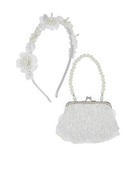 monsoon-girls-belinda-beaded-lace-bag-headband-set