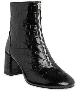 whistles-leather-rowan-faux-crocodile-front-zip-boots-black