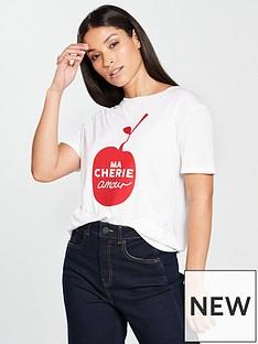 whistles-mon-amour-cheri-logo-tshirt