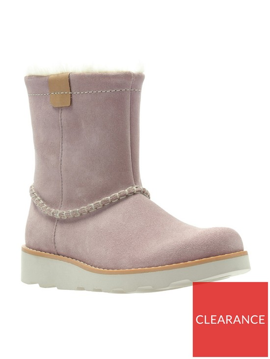 34d032dd Clarks Crown Piper Infant Boot | very.co.uk