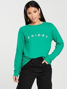 whistles-friday-logo-sweatshirt