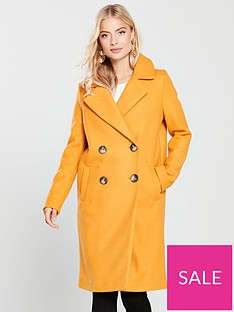 river-island-river-island-double-breasted-coat--yellow