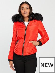 river-island-river-island-hooded-padded-jacket--orange