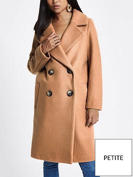 ri-petite-double-breasted-coat-camel