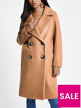 ri-petite-double-breasted-coat-camel