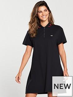 tommy-jeans-logo-polo-dress