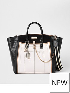 river-island-large-wing-tote-black