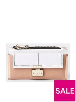 river-island-lock-front-purse-white