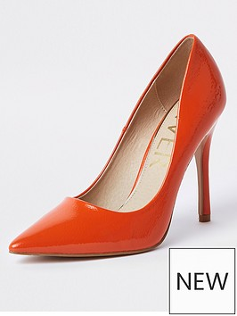river-island-patent-stiletto-court-shoe-dark-orange