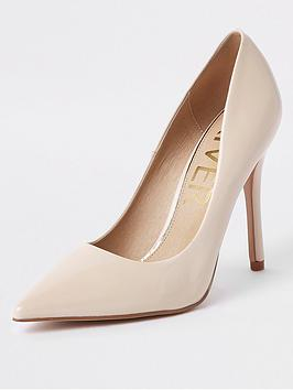 river-island-river-island-patent-stiletto-court-shoe--light-pink