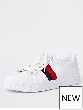 river-island-river-island-two-stripe-plimsolls-white