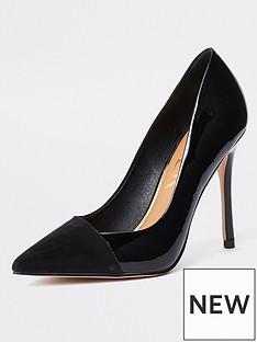 river-island-classic-court-shoe-black