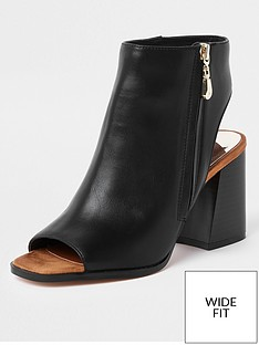 river-island-river-island-wide-fit-block-heel-shoe-boot-black