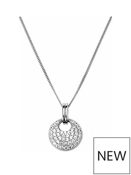 the-love-silver-collection-sterling-silver-cubic-zirconia-round-cluster-pendant-necklace