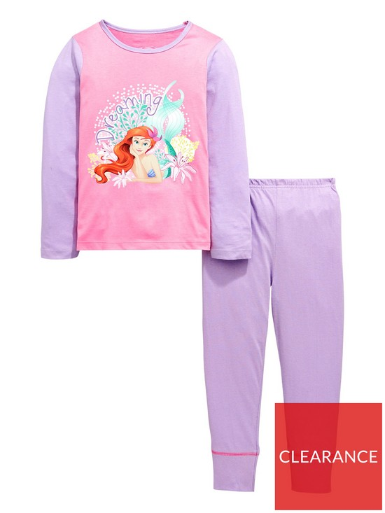 446a8ae876f8 Disney Princess Little Mermaid Ariel Girls Pyjamas Set