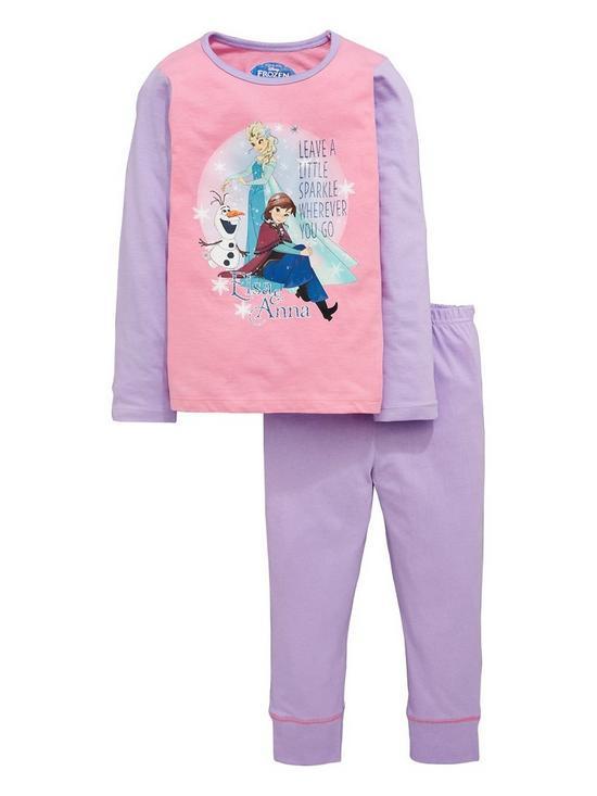 30194107819 Disney Frozen Frozen Girls Pyjama Set | very.co.uk