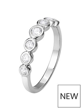 the-love-silver-collection-sterling-silver-white-cubic-zirconia-graduated-7-stone-bubble-ring