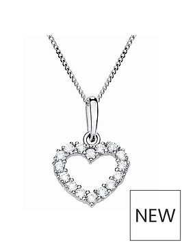 love-gold-9ct-white-gold-cubic-zirconia-heart-pendant-necklace
