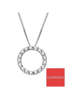 love-gold-9ct-white-gold-cubic-zirconia-circle-pendant-necklace