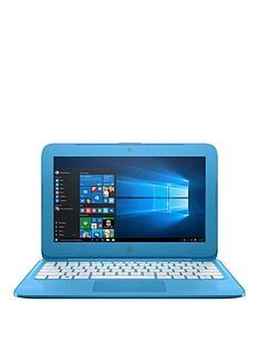 hp-stream-11-ah005na-intelreg-celeronreg-2gbnbspramnbsp32gbnbspstorage116-inch-laptopnbspwith-optional-microsoft-office-365-home-blue