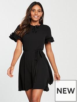 river-island-tea-dress-black