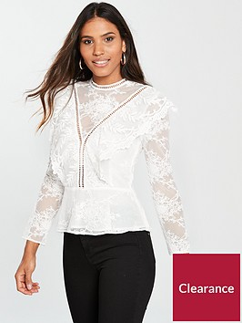 river-island-river-island-frill-front-lace-top-white