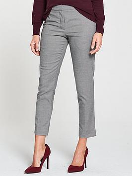 oasis-dogtooth-button-detail-slim-leg-trouser-monochrome