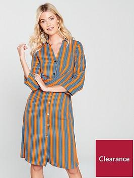 river-island-stripe-shirt-dress-orange