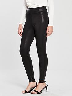 river-island-river-island-matte-coated-legging-black