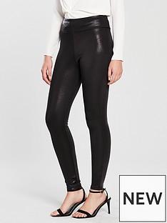 river-island-river-island-matte-coated-legging-black