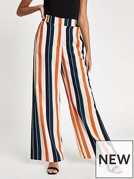 river-island-stripe-wide-leg-trousers-pink