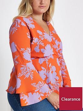 ri-plus-wrap-blouse-pink