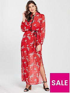 river-island-floral-maxi-dress-red