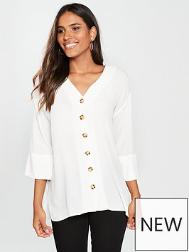 river-island-button-front-blouse-white