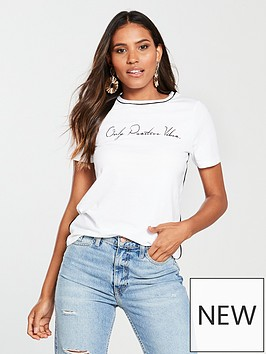 river-island-river-island-only-positive-vibes-print-t-shirt-white