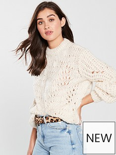 river-island-stitch-jumper-cream