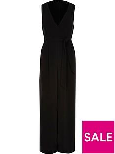 ri-petite-sleeveless-jumpsuit-black