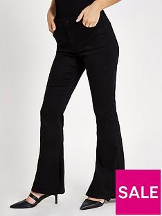 ri-petite-petite-marnie-flare-jeans-black
