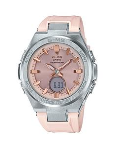 casio-casio-baby-g-solar-rose-gold-tone-dial-pink-silicone-strap-ladies-watch