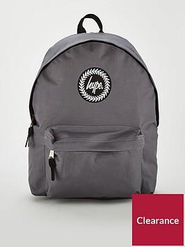 hype-badge-backpack-charcoal